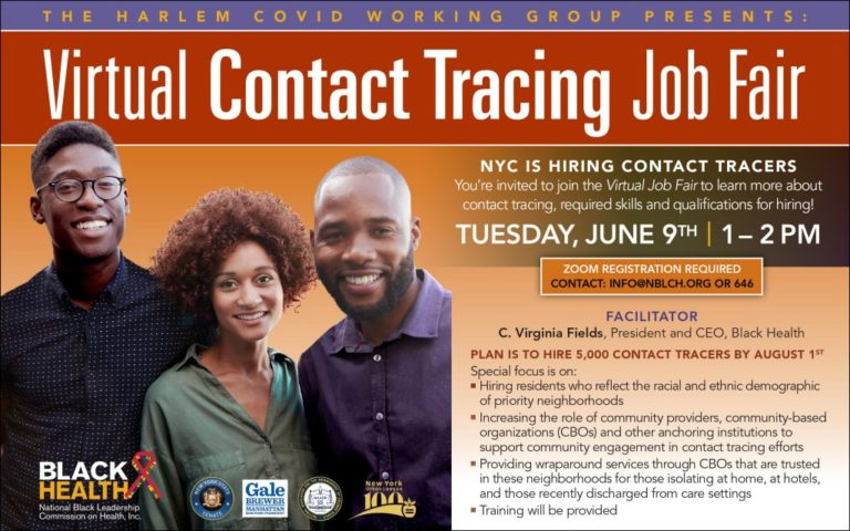 Virtual Contact Tracing Job Fair