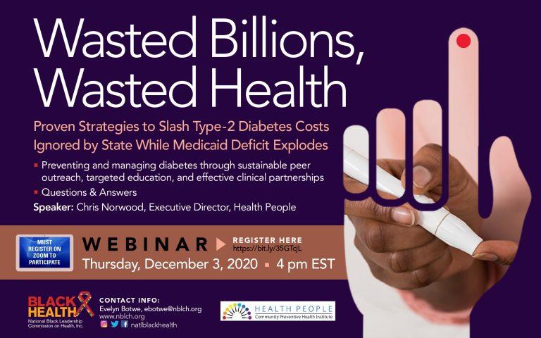 wasted billions wasted health seminar flyer
