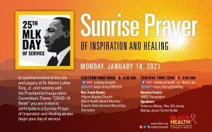 sunrise prayer flyer