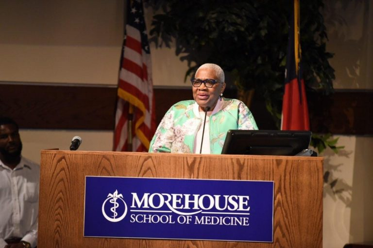 speaker at the morehouse school of medicine