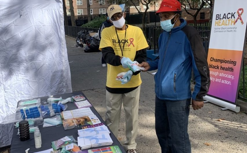 black health street stall photo