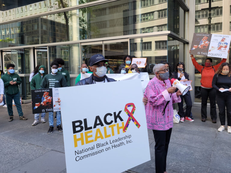 COVID health equity demonstration