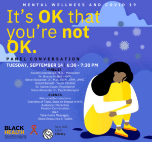 flyer for it's OK that you're not OK