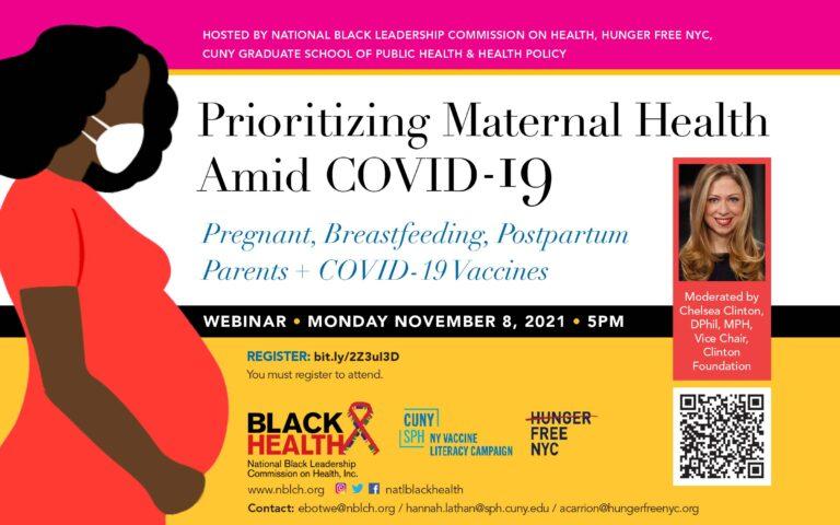 Prioritizing Maternal Health Amid COVID-19